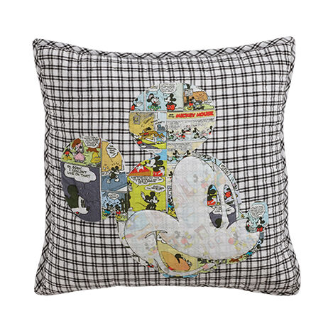 Comic Collage Mickey Pillow ,  , large