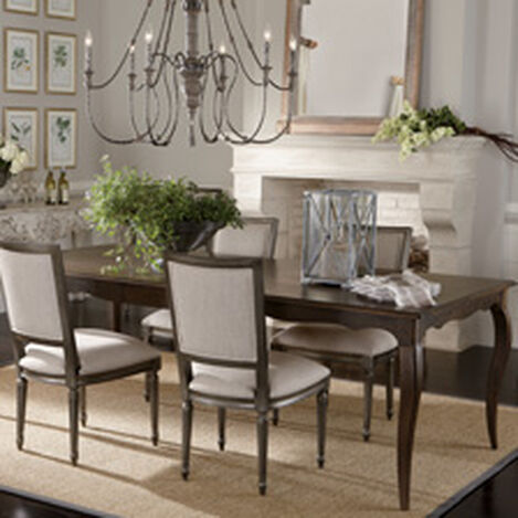 Null Quick Ship FREE SHIPPING Bijou Dining Table