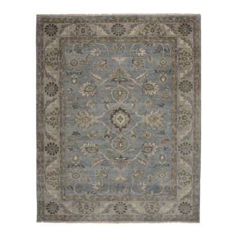 Suzain Rug, Blue/Gray ,  , large