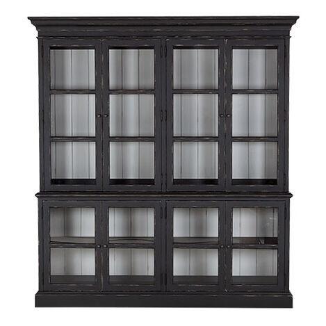 Sayville Four Door Glass Cabinet ,  , large