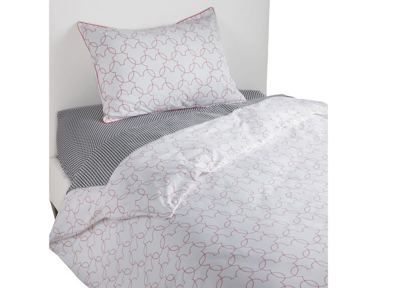 Mickey Mouse Dash Duvet Cover and Sham, Mickey's Shorts