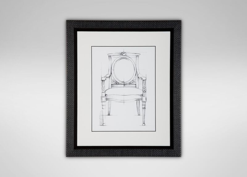 Historic Chair Sketch VIII ,  , large_gray