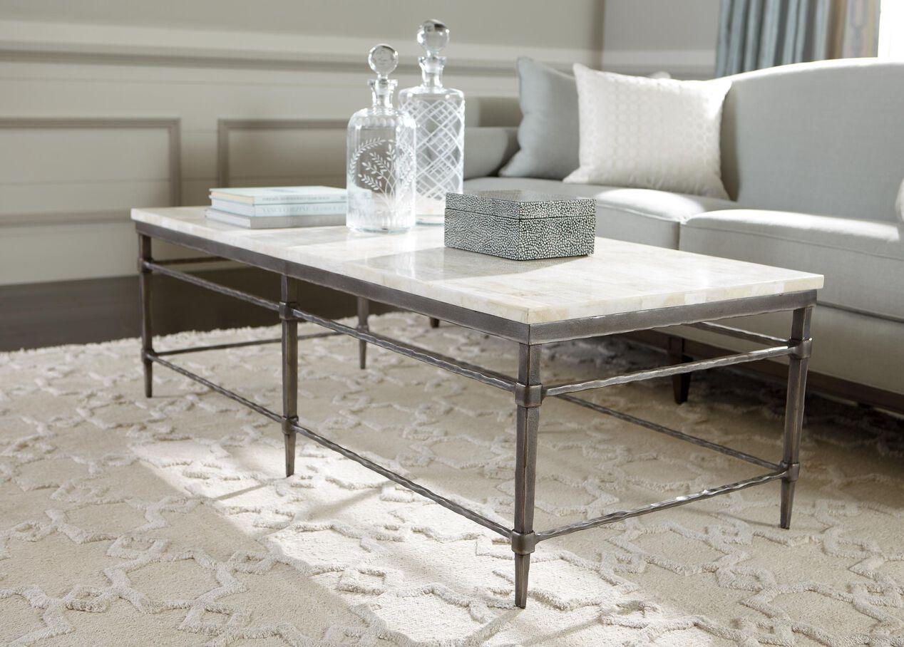 vida stonetop coffee table  coffee tables - vida stonetop coffee table   alt