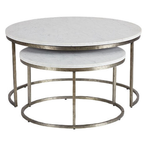 Bayliss Round Nesting Coffee Tables Product Tile Image 138201   11B