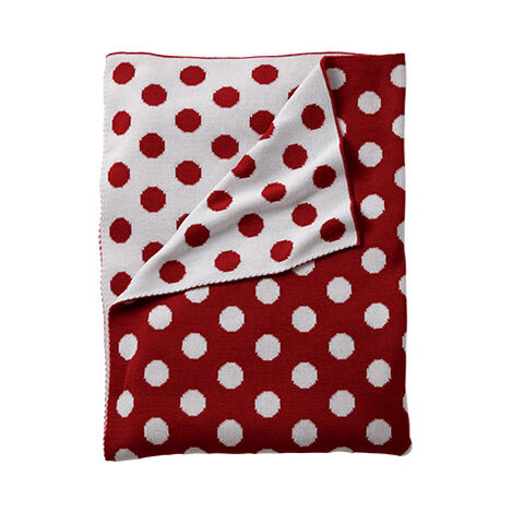 Dotty Stroller Blanket, Mickey's Shorts ,  , large