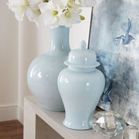 Lacey Blue Globe Vase Product Tile Hover Image 432092