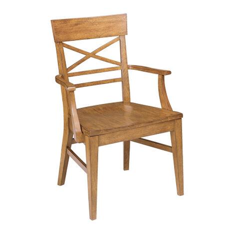 Blake Wood-Seat Armchair ,  , large