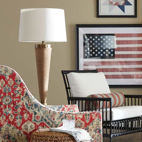 Jayde Woven Floor Lamp Product Tile Hover Image 092005