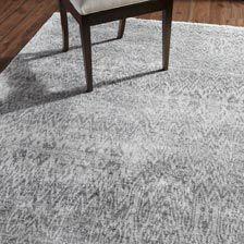 ... Large Ikat Rug, Gray/Ivory , , Hover_image
