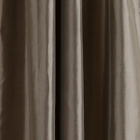 Pewter Satin Dupioni Fabric ,  , large