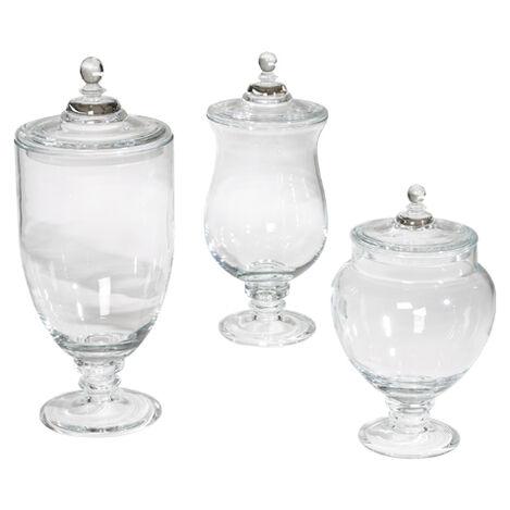 Darcy Glass Jars ,  , large