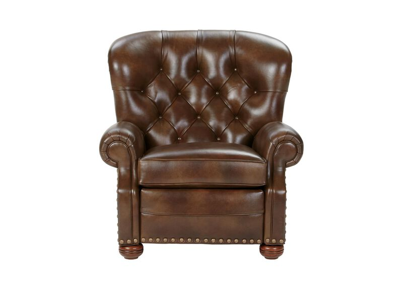 Cromwell Leather Recliner, Omni/Tobacco ,  , large_gray