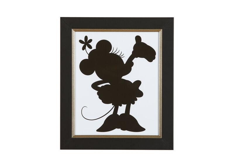 Minnie Silhouette Iv Art Ethan Allen