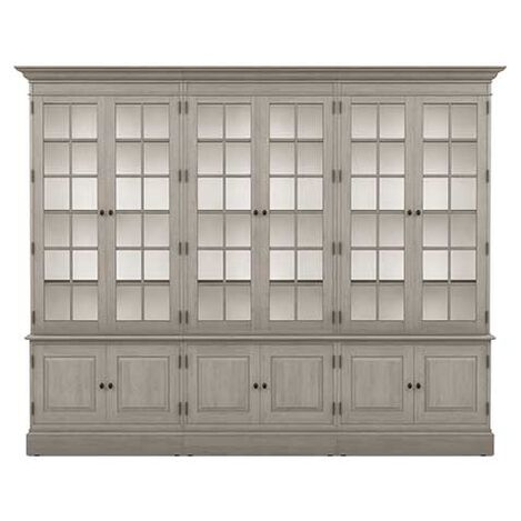 Villa Triple Library Bookcase Product Tile Image 139350G