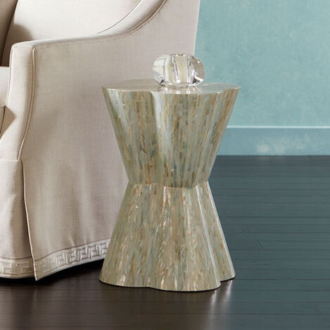 Loren Mother-of-Pearl Stool Product Tile Hover Image 421843