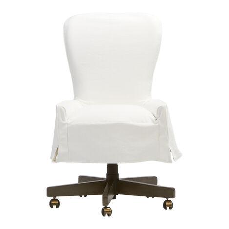 Bristol Slipcovered Desk Chair ,  , large