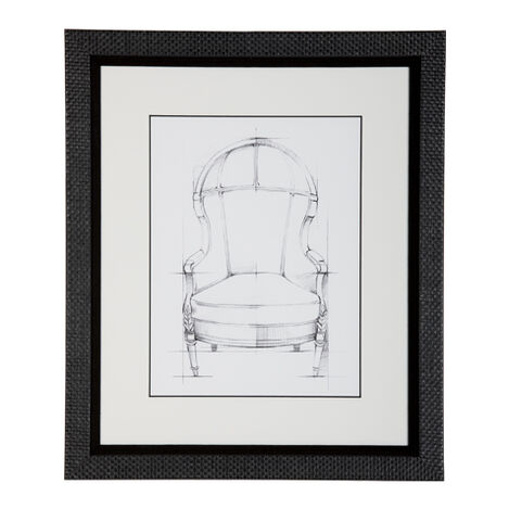 Historic Chair Sketch Vii Product Tile Image 071046G