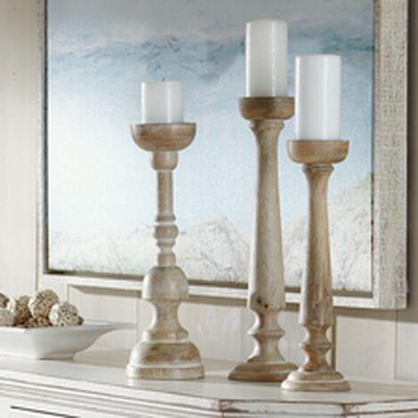 Demira White Candlesticks ,  , hover_image