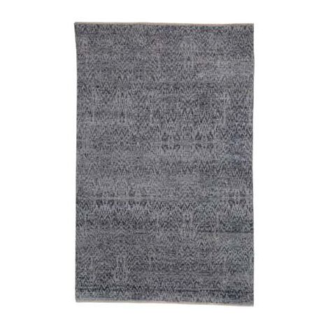 Ikat Rug, Gray/Ivory Product Tile Image 041267