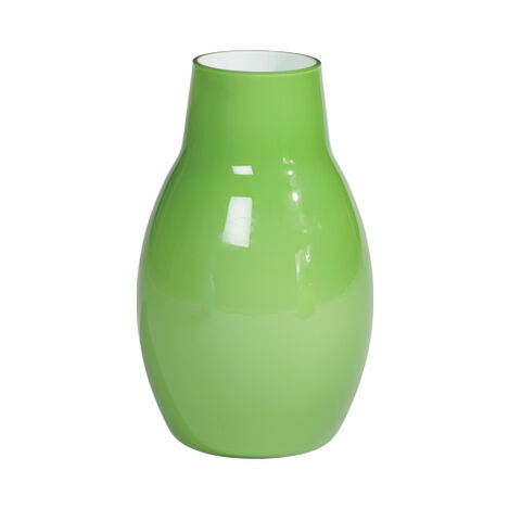 Ensemble Painted Vase, Green Product Tile Image 430601   GRN