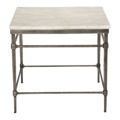 Vida Stone-Top End Table ,  , large