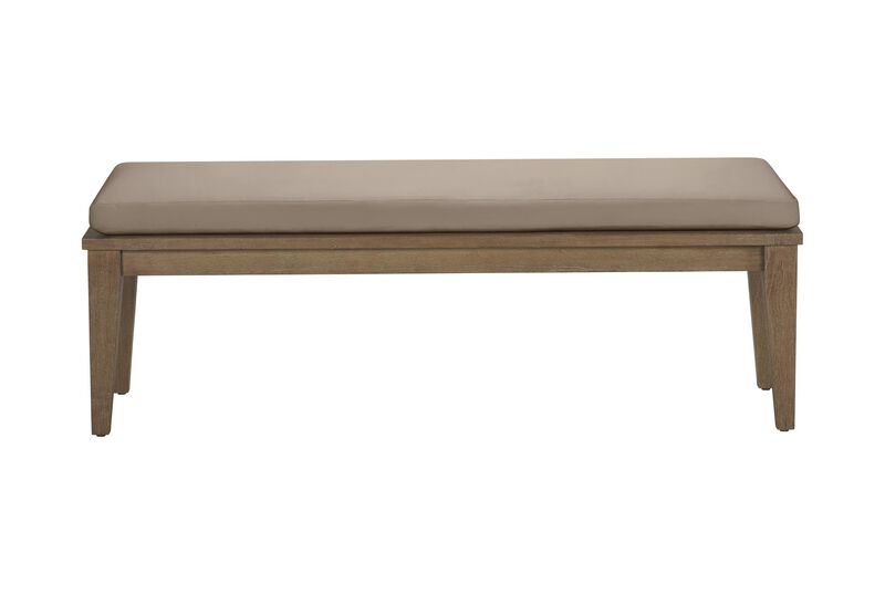 Bridgewater Cove Teak Dining Bench