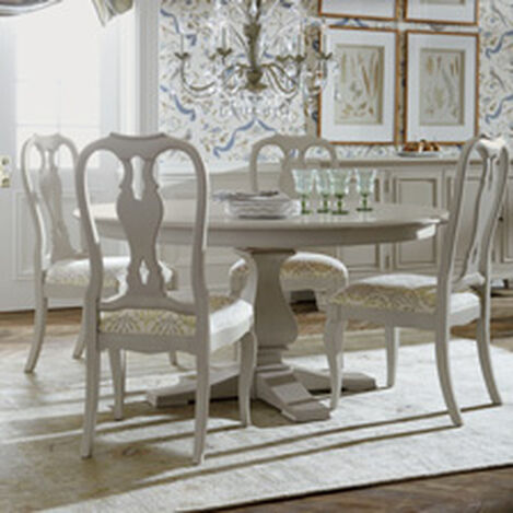 round dining room tables. Large Cameron Round Dining Table , Hover_image Room Tables B