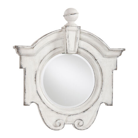Antique White Gisele Mirror Product Tile Image 074430A