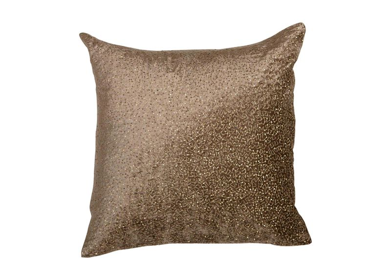 Sequined Velvet Pillow