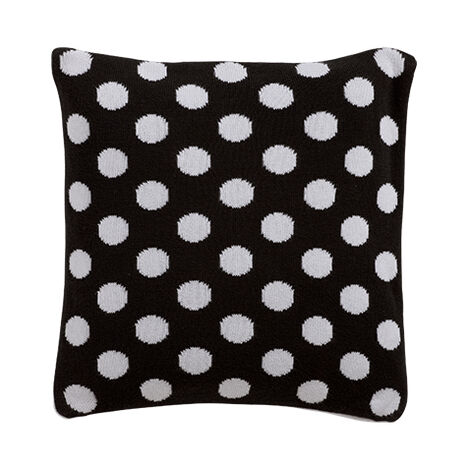 Dotty Knit Pillow, Mickey's Ears ,  , large