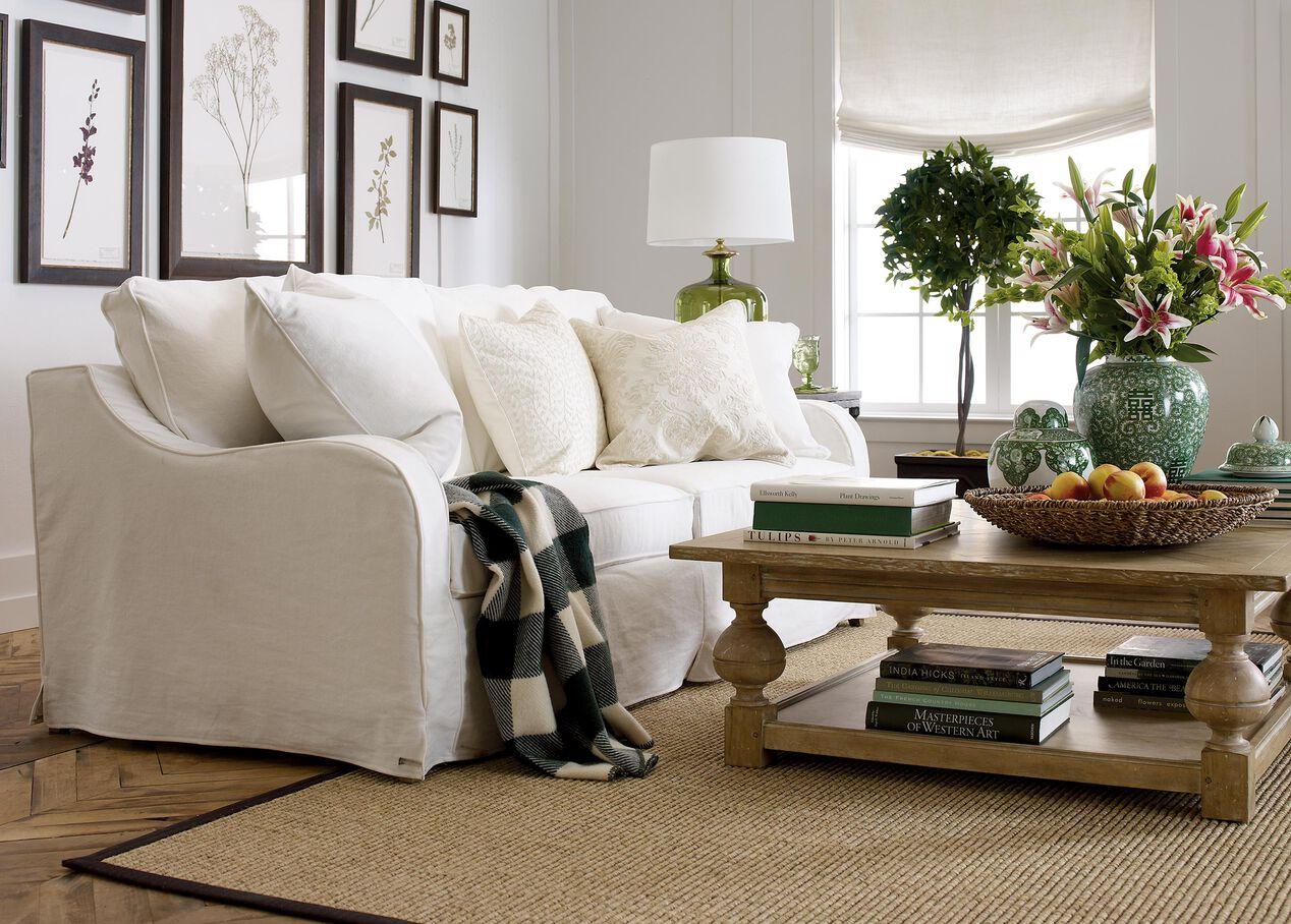Dylan Slipcovered Sofa