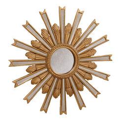 Miroir en forme d'étoile dorée 51cm ,  , large
