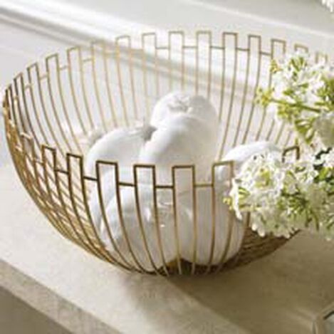 Geometric Wire Bowl ,  , hover_image