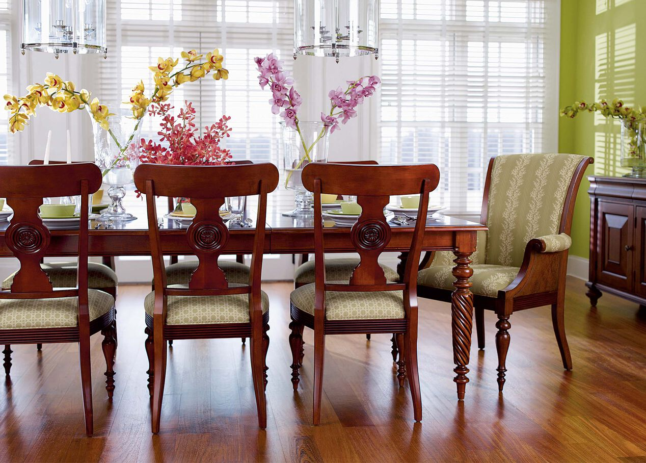 Livingston Dining Table Alt Room Chairs Ethan Allen