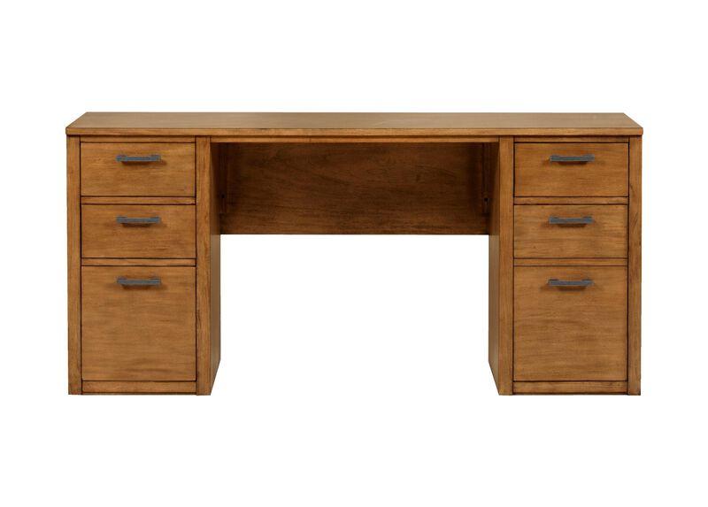 """Duke 60"""" Double Pedestal Desk"""