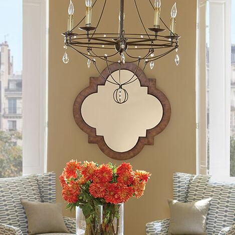 Light Quatrefoil Mirror Product Tile Hover Image 074114