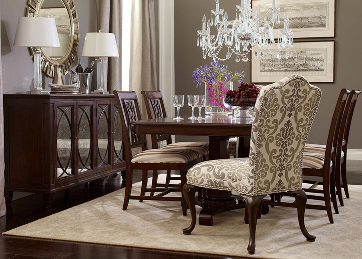 Edwin Dining Chair Arm amp Host Chairs : SEP2011ELEREGALDR759flip from www.ethanallen.ca size 1268 x 908 jpeg 220kB