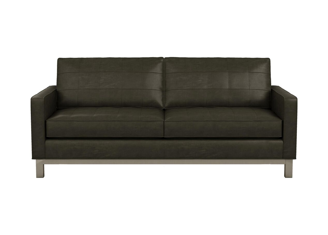 Melrose Leather Sofa The Melrose Collection Ethan Allen