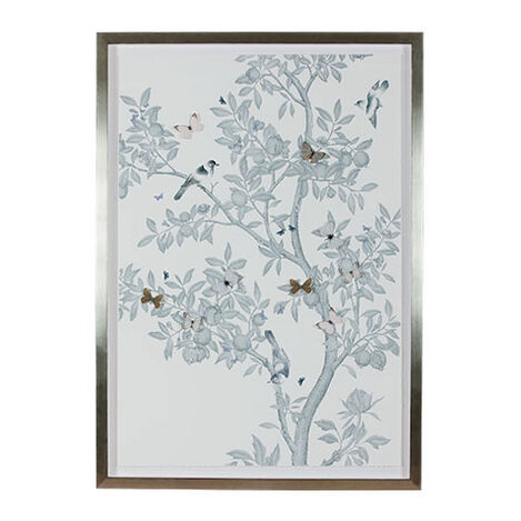 Large Tree with Butterflies Product Tile Image 073492