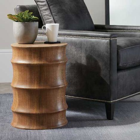 Walden Mango Wood Stool Product Tile Hover Image 421844