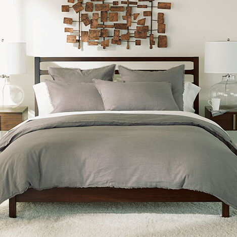 Gray Callyn Duvet Cover and Shams Product Tile Image CallynGray
