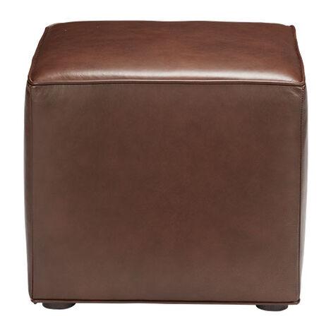 Dacian Leather Cube Ottoman Product Tile Image 721000