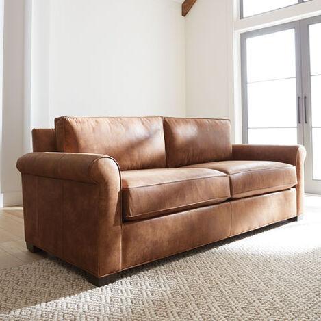 Spencer Roll-Arm Leather Sofa Product Tile Hover Image spencerRAsofaLTH