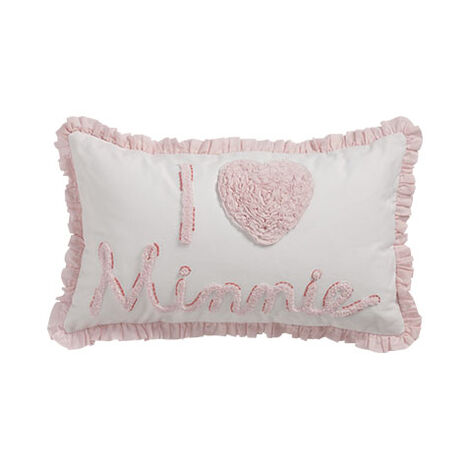 Really Ruffle Minnie Boudoir Pillow, Petal ,  , large