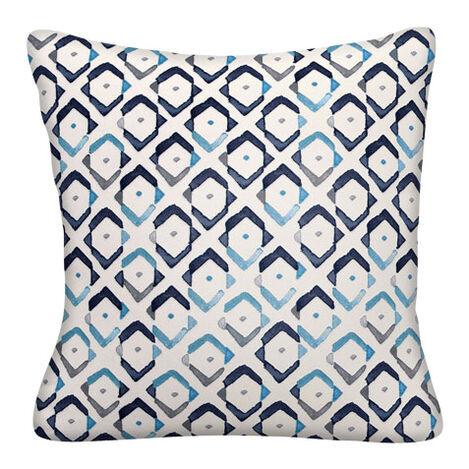 Collins Indigo Outdoor Pillow ,  , large