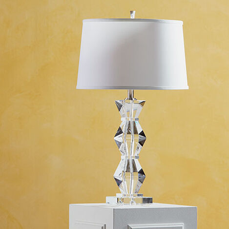 Geometric Crystal Table Lamp Product Tile Hover Image 096783