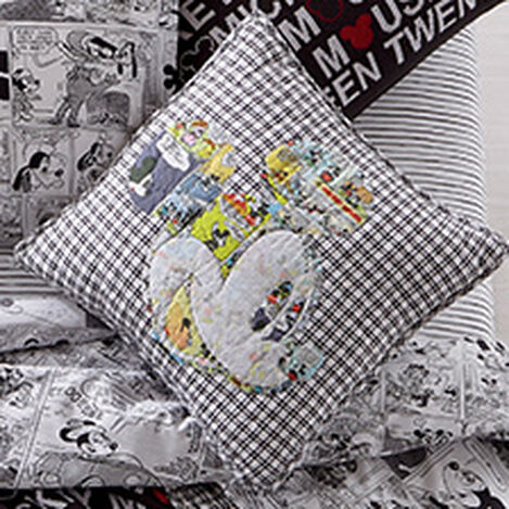 Comic Collage Mickey Pillow ,  , hover_image