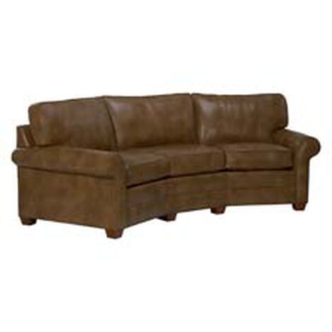 Bennett Conversation Leather Sofa ,  , hover_image