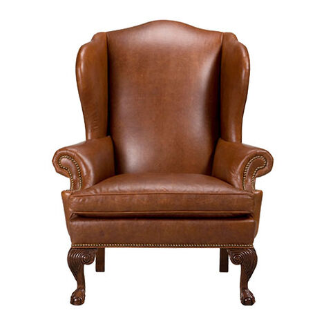Giles Leather Chair Product Tile Image 727625