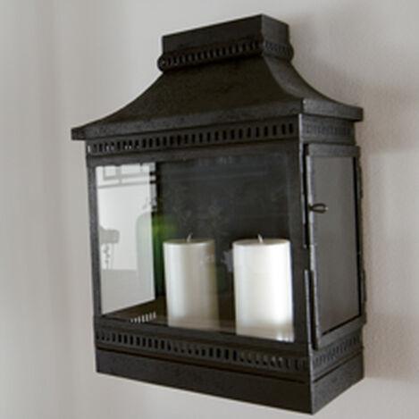 Black Fulton Wall Lantern ,  , hover_image